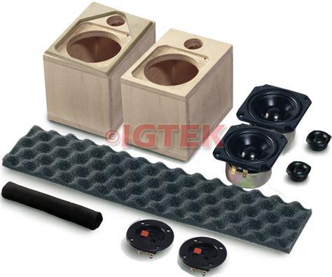 kit autocostruzione home ciare khf03 80w 6 ohm 2 mini diffusori home theatre
