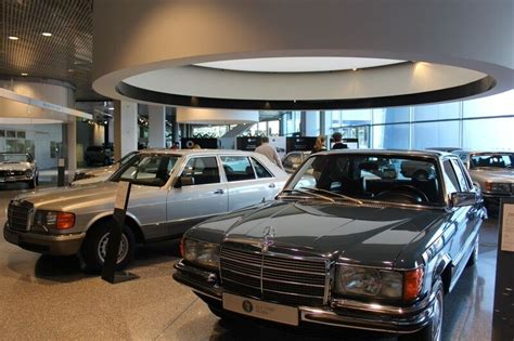 mercedes showroom germany where pigs fly and marvel the mercedes travel