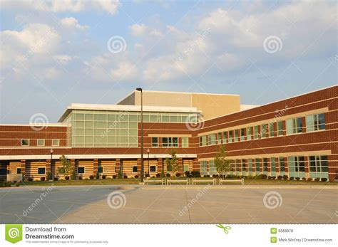 school images new school building stock photo image of facade
