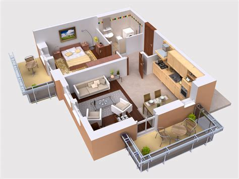 3d plans luckydesigners builders 3d floor plan
