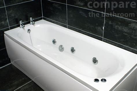 Bathtub With Jets And Shower Whirlpool Bath 1700mm Luxury Spa Style 6