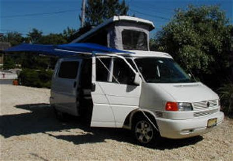 eurovan awning shady boy awning on a vw eurovan 062004 nj country homes