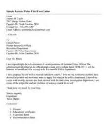 Police Chief Resume Cover Letter Letter Of Recommendation