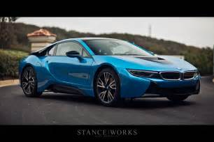 Www Protonic Protonic Blue Bmw I8 Poses For Breathtaking