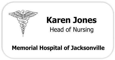 Dr Name Tag Template Choice Image Template Design Ideas Office Name Tag Template
