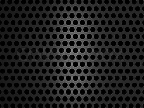 Background Grill Metallic Grill Texture On Black Background Stock Photo