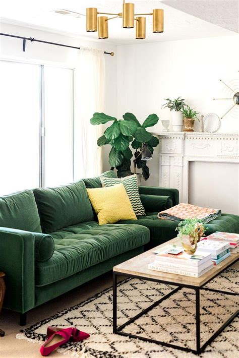 green sofa living room ideas 20 best ideas emerald green sofas sofa ideas