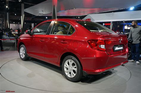 Expo Auto by Honda Amaze Auto Expo 2018 Team Bhp