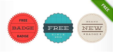 Ui Kits Psd 45 55 best free psd badge templates for download