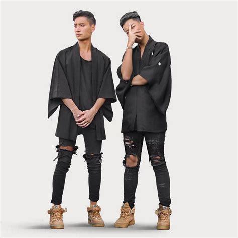top 10 hottest black leading men 106 park shows bet fashion brand fear of god broken demin destroy jeans men