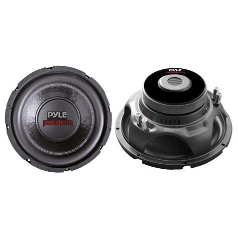 Speaker Subwoofer 4 Ohm pyle plpw6d 6 quot 600 watts dual 4 ohm subwoofer speaker plpw6d