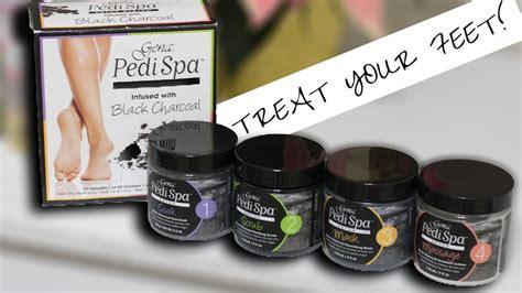 Gena Pedi Spa Detox Charcoal by How To Do A Spa Pedicure Gena Pedi Detox System