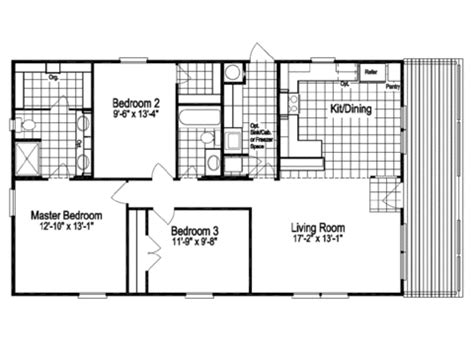 100 rockwell floor plan the rockwell ii 28523r the rockwell ii 28523r manufactured home floor plan or