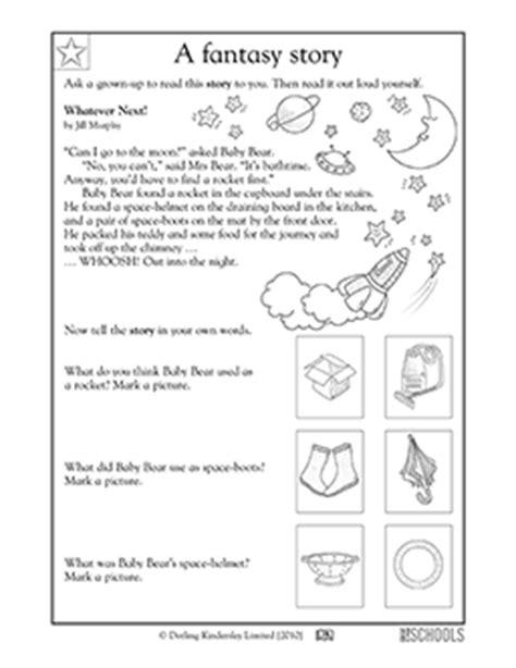 Free printable Kindergarten Worksheets, word lists and