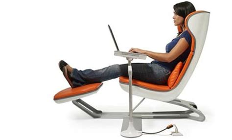 computer lounge chair comfortable laptop workstation by manuel saez