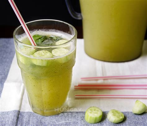 Cucumber Mint Lemonade Detox by Thirst Quenching Cucumber Mint Lemonade Hungry Peepor