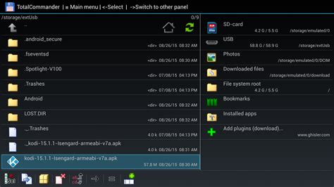 total commander apk how to sideload apps onto the tv with just a usb drive adb pc utility unnecessary