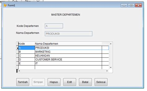 membuat program html lilis suryani contoh membuat program dengan foxpro 8 0