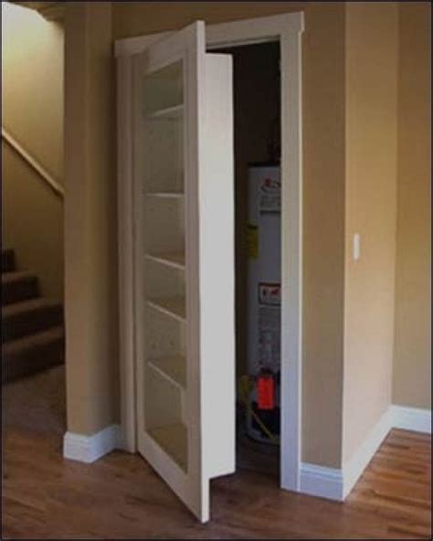 Turning A Closet Into A Bookshelf by Turn A Closet Door Into A Bookcase Ideas