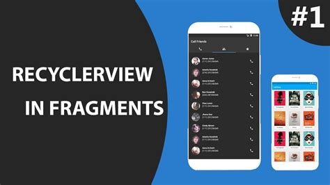 recyclerview tutorial android studio fragment with recyclerview part 1 create tablayout with