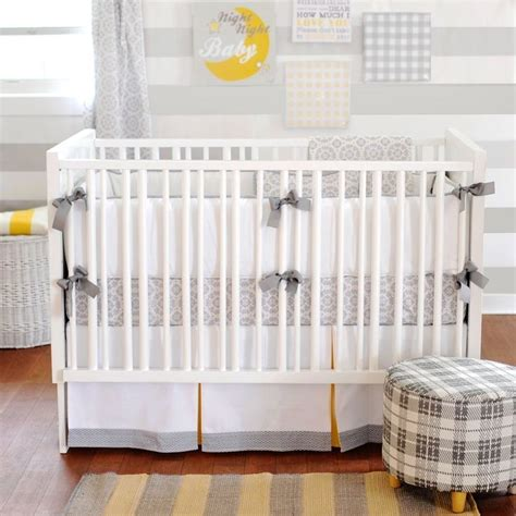 yellow and gray baby bedding 17 best images about crib bedding sets on pinterest