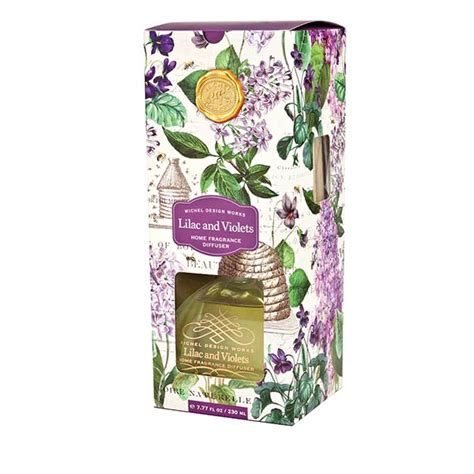 michel design works joyous christmas home fragrance diffuser michel design works fragrance diffuser lilac and violets