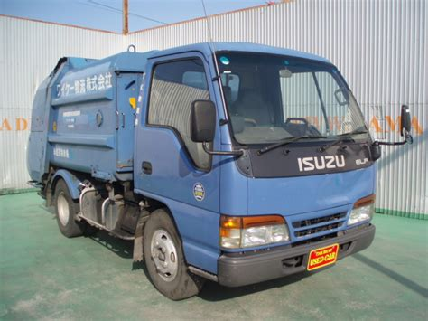 isuzu garbage truck n a used for sale
