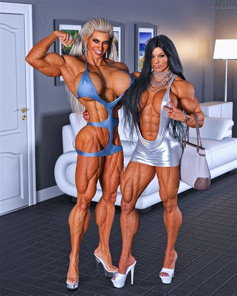 Muscle Girls Candid By Siberianar On Deviantart