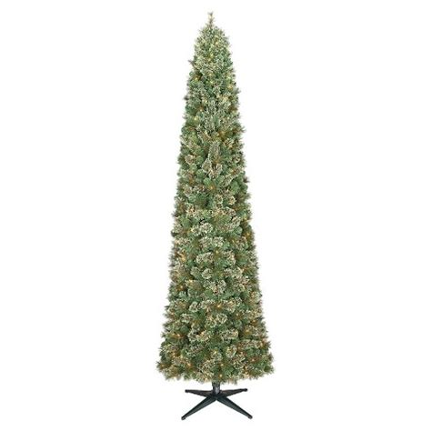 9ft center tree at target 9 ft pre lit slim virginia pine artificial chri target