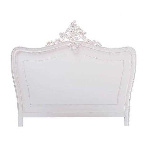 t 234 te de lit en bois blanche l 160 cm comtesse maisons du