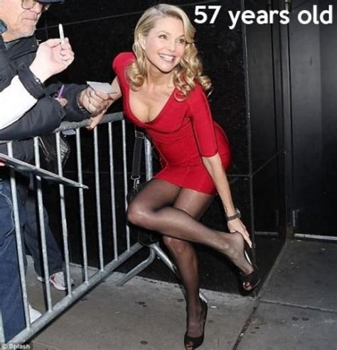 is turning 57 old women christie brinkley 57 years old damn amazing feats