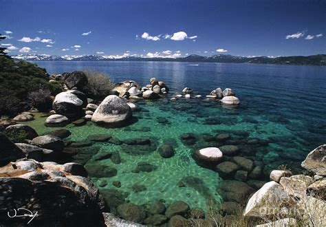 clearest water in the us clear water lake tahoe photograph by vance fox