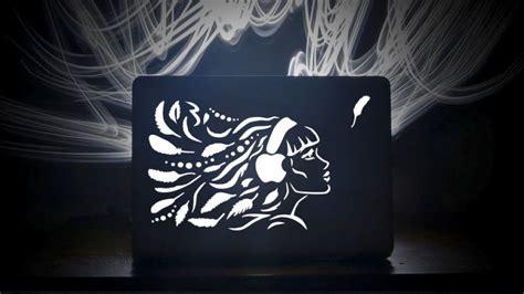 Stiker Miku Cutting Laser laser cut macbook lids are more stunning than stickers