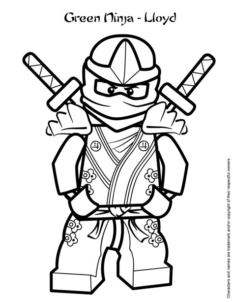 Free Printable Lego Coloring Pages For lego ninjago coloring pages