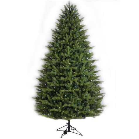 ge colorado spruce christmas tree light replacements shop ge 7 5 ft pre lit oakmont spruce artificial tree with 500 multi function color