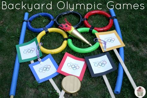 backyard olympics olympic cupcakes crafts and decorating hoosier homemade