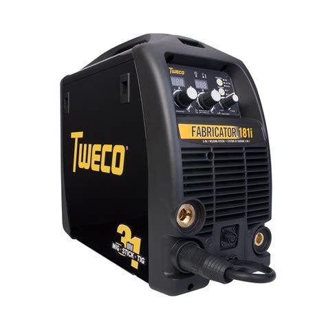 Fabricator Welder by Tweco Fabricator 181i Mig Tig Stick Welder Pkg With Tig Torch For Sale W1003181 W4013802