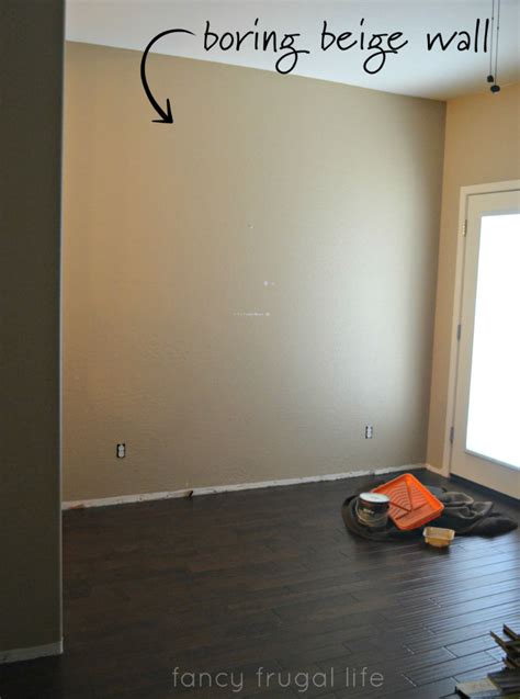 accent colors for beige walls herringbone pattern painted accent wall using