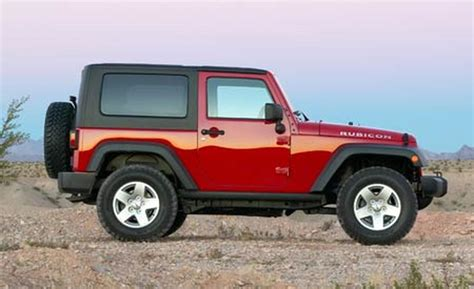 Jeep Wrangler 2 Door Wheel Base Car And Driver