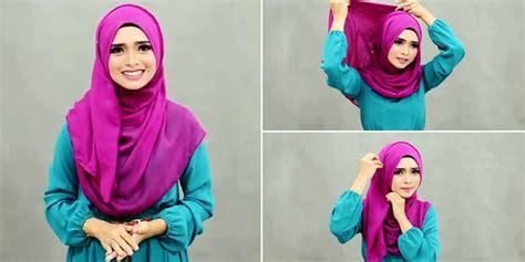 mudah memakai hijab  menutup dada lifestyle wanita