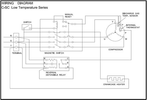 wiring diagram for 3 phase air compressor wiring get