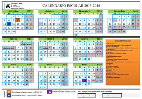 Calendario Escolar Madrid 2015 16 Eso Florienta Calendario Escolar 2015 2016