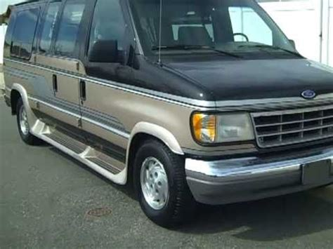 buy car manuals 1993 ford econoline e350 navigation system 1993 ford conversion van for sale in denver co sold sold sorry youtube