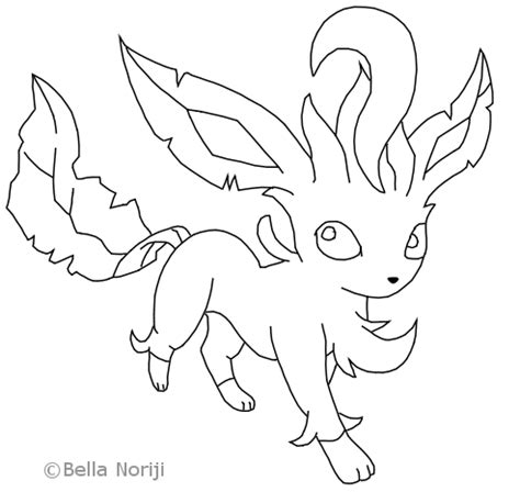 pokemon leafeon coloring pages coloring pages