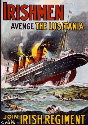 u boat crisis ww1 british officials feared secret of sunk lusitania could