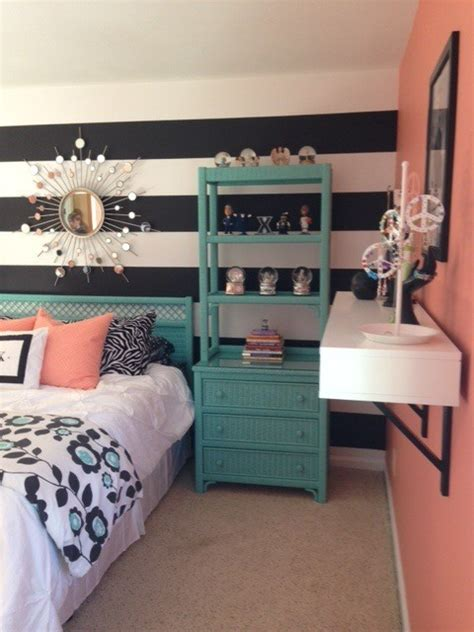 teal and coral bedroom girl s teal coral bedroom