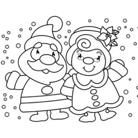 coloring pages of santa and mrs claus mr mrs claus coloring page free christmas recipes