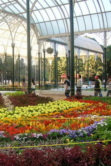 The Glass House Lal Bagh Botanical Gardens Bangalore India Botanical Garden India