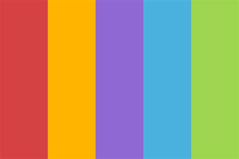 circus color palette