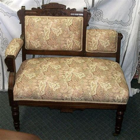 antique benches and settees victorian eastlake settee benches gossip bench and settees